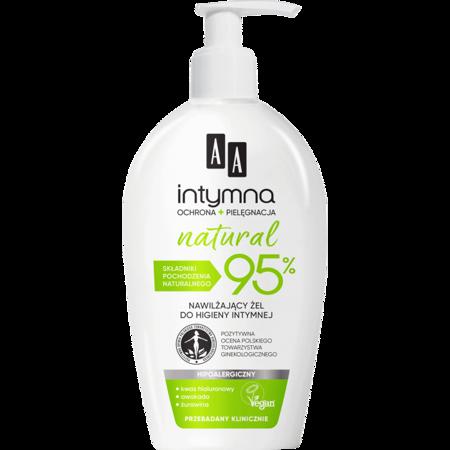 AA INTYMNA Ochrona NATURAL 95%  żel do higieny intymnej