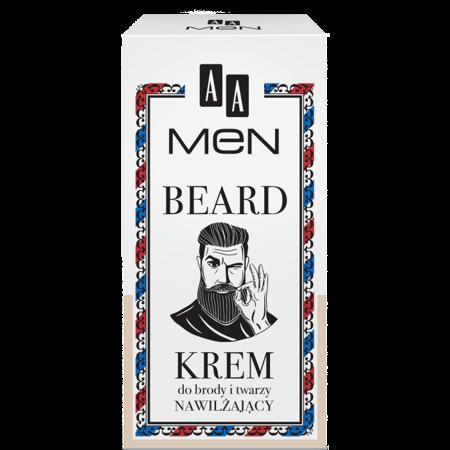AA MEN BEARD Krem do brody i twarzy 50 ml