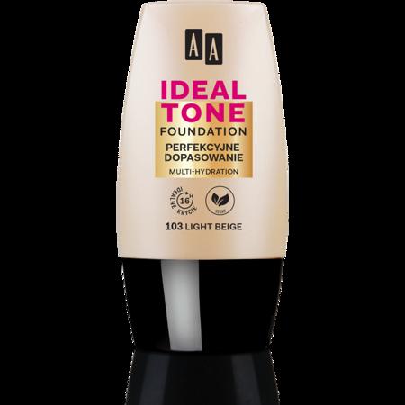 AA Make Up Ideal Tone Podkład perfekcyjne dopasowanie 103 light beige 30ml