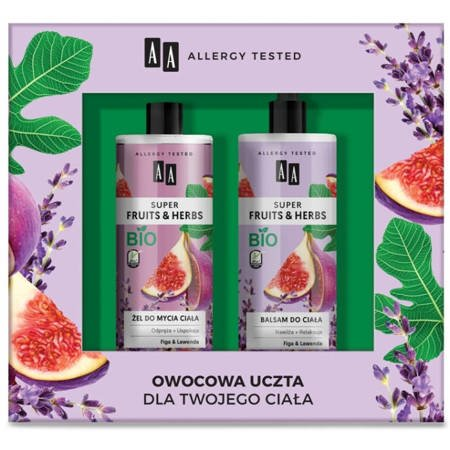 AA Super Fruits&Herbs -żel do mycia+balsam do ciała