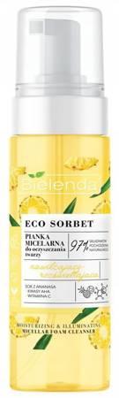 Bielenda Eco Sorbet Ananas Pianka micelarna nawilżająco-rozświetlająca 150ml