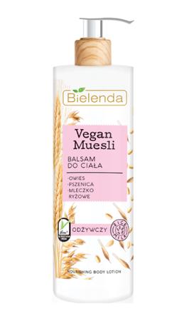 Bielenda Vegan Muesli Balsam do ciała odżywczy 400ml