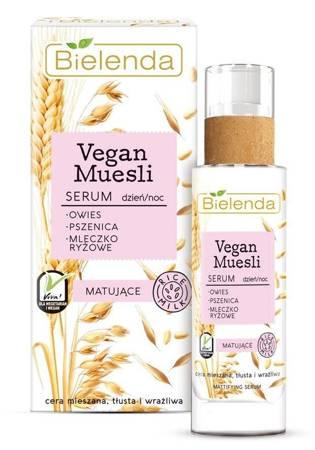 Bielenda Vegan Muesli Serum matujące dzień/noc 30ml