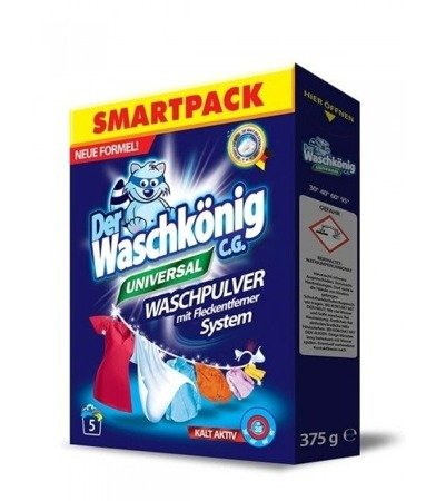Der Waschkonig C.G. proszek do prania Universal 375g 5 prań