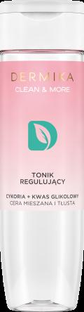 Dermika Tonik regulujący cykoria+kwas glikolowy cera mieszana i tłusta