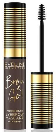 Eveline BROW AND GO! Tusz do brwi 02 DARK