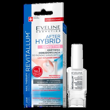 Eveline NAIL THERAPY Odżywka odbudowująca AFTER HYBRID SENSITIVE