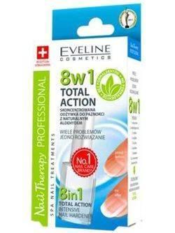 Eveline Nail Therapy Odżywka do paznokci 8w1 Sensitive 12ml
