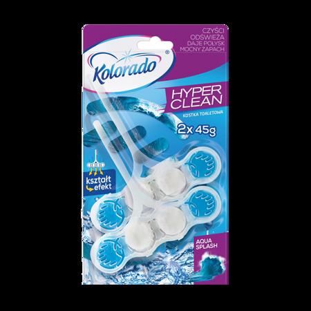 Kolorado Hyper Clean Duopack 2x45g kostka WC Aqua Splash