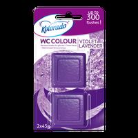 Kolorado Kostka WC Colour  Fioletowy A2