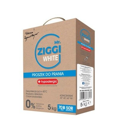 Proszek do prania Mr.ZIGGI White 5kg