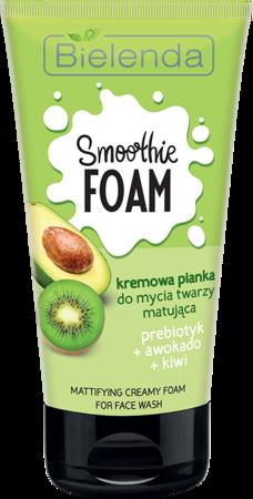 SMOOTHIE FOAM Pianka do mycia twarzy AWOKADO + KIWI