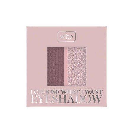 Wibo EYESHADOW DUO Cienie do powiek - 1 Ash Rose